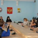 Выступление Епископа Сарапульского и Можгинского Викторина на пресс-конференции по итогам 6 месяцев архиерейского служения