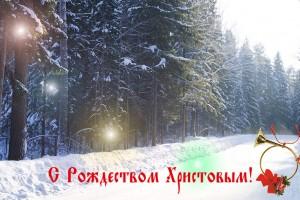 Поздравляю вас всех с Рождеством Христовым!